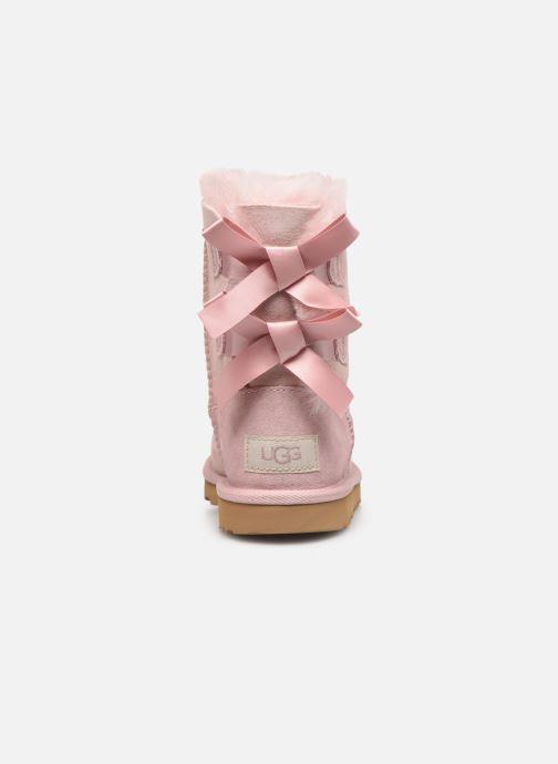 Stiefel UGG Bailey Bow II K rosa ansicht von rechts