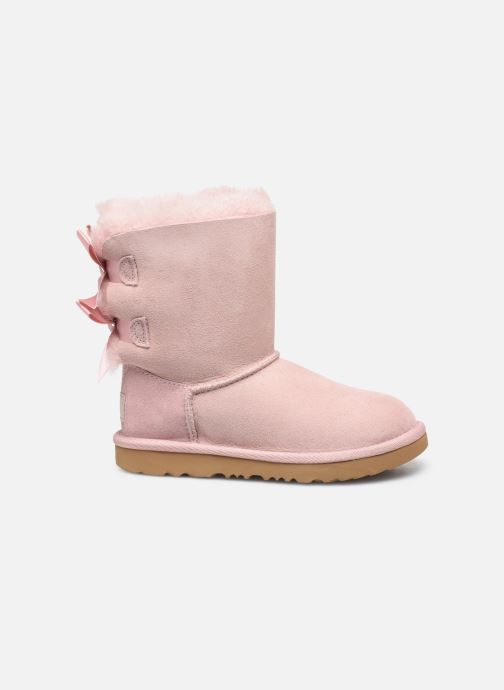 Støvler & gummistøvler UGG Bailey Bow II K Pink se bagfra