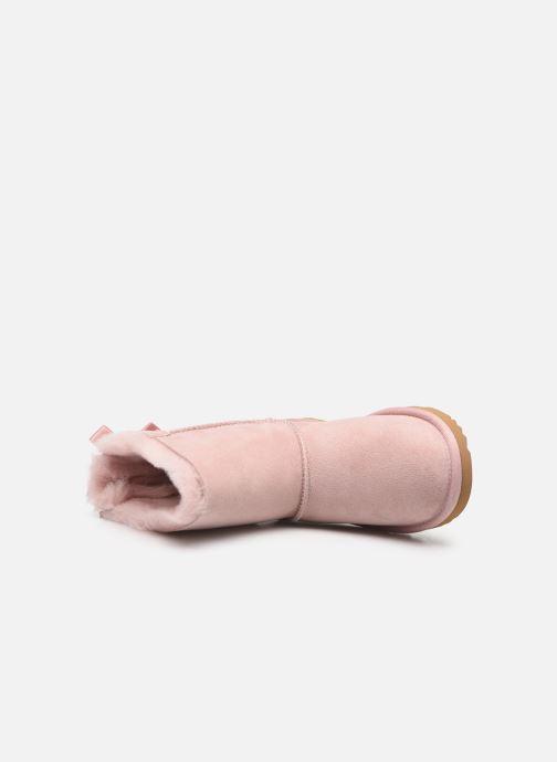 Stiefel UGG Bailey Bow II K rosa ansicht von links