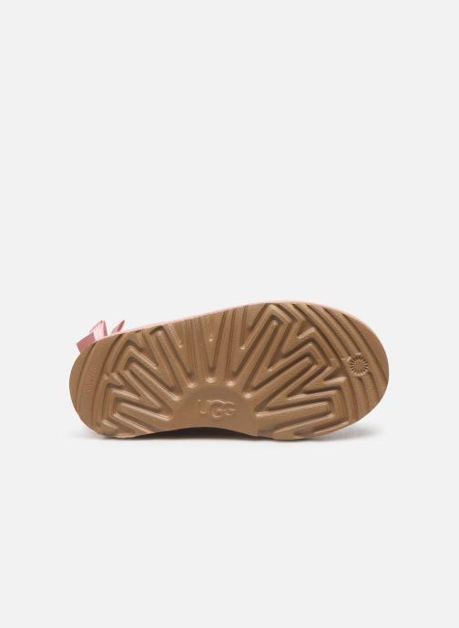Støvler & gummistøvler UGG Bailey Bow II K Pink se foroven