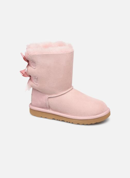 Støvler & gummistøvler UGG Bailey Bow II K Pink detaljeret billede af skoene