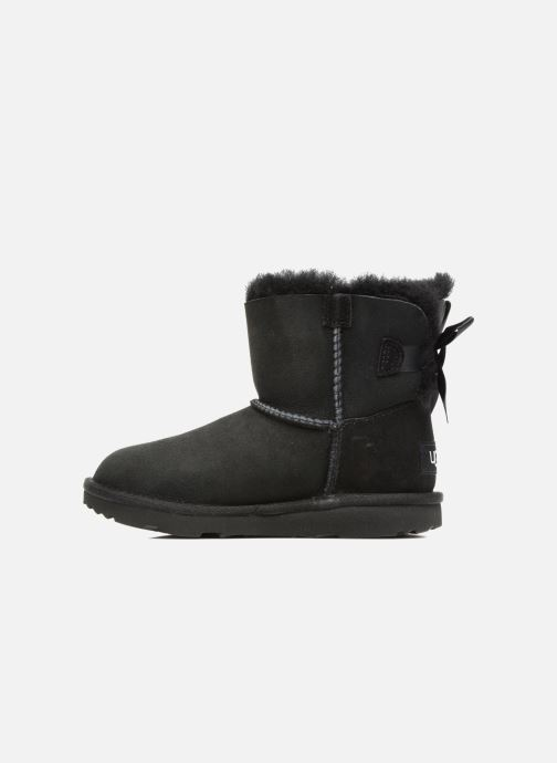 Botas UGG Mini Bailey Bow II K Negro vista de frente