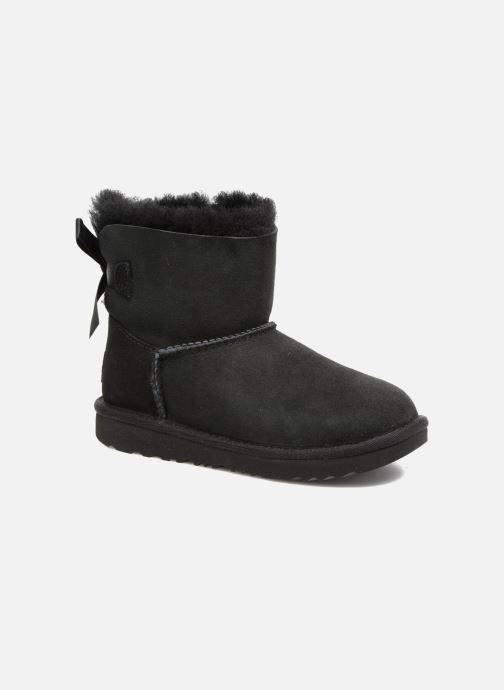 Laarzen UGG Mini Bailey Bow II K Zwart detail
