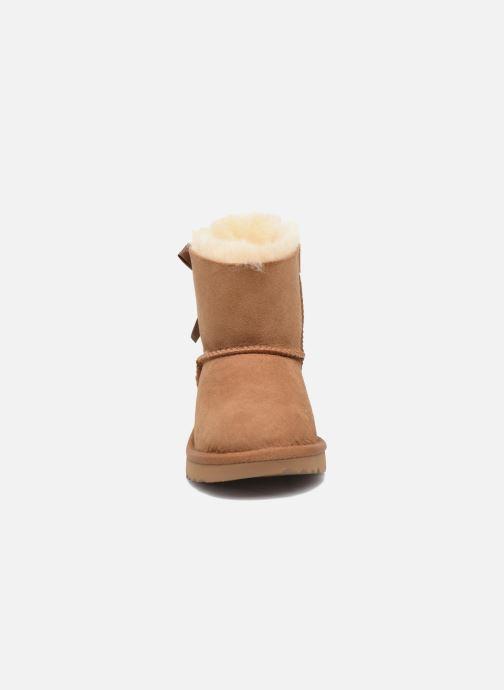 Stiefel UGG Mini Bailey Bow II K braun schuhe getragen