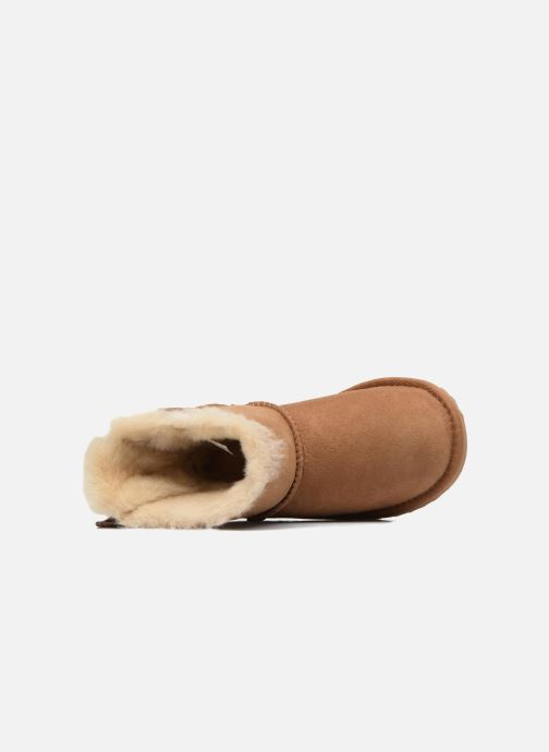 Stiefel UGG Mini Bailey Bow II K braun ansicht von links