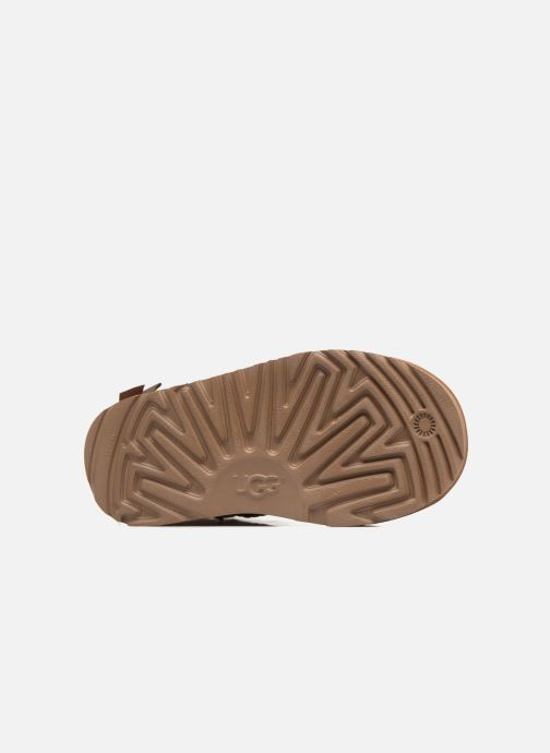 Stiefel UGG Mini Bailey Bow II K braun ansicht von oben