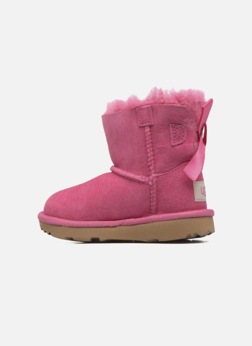Bottes UGG Mini Bailey Bow II K Rose vue face