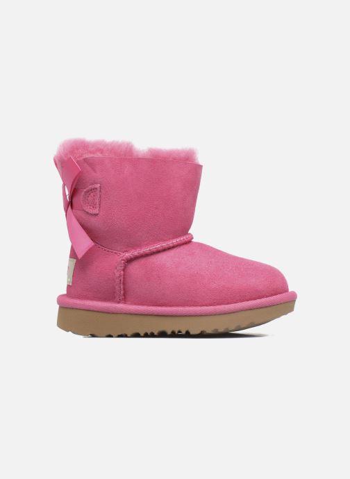 Stiefel UGG Mini Bailey Bow II K rosa ansicht von hinten