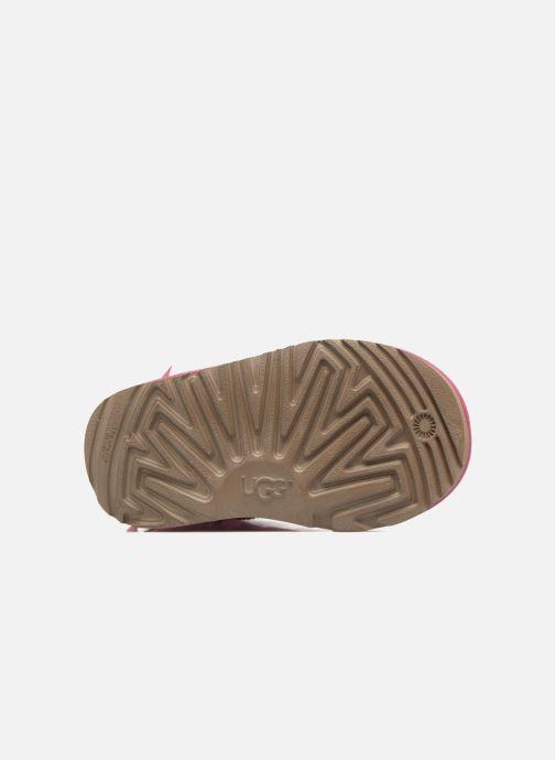Stiefel UGG Mini Bailey Bow II K rosa ansicht von oben