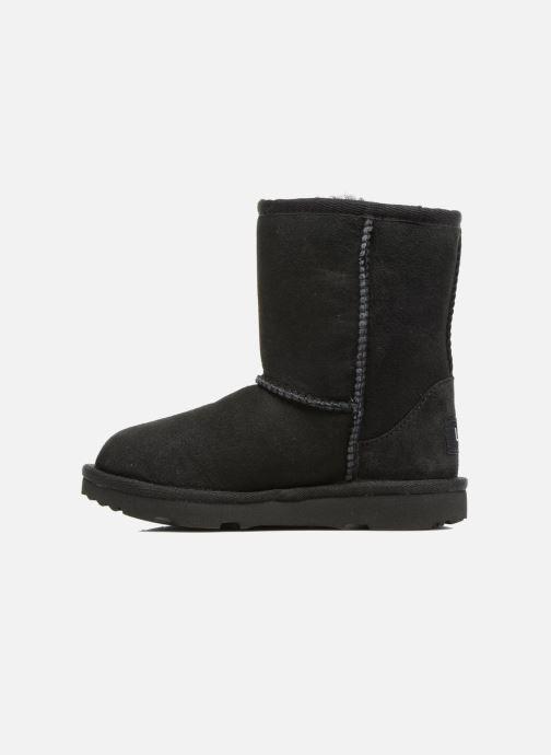Stiefel UGG Classic II K schwarz ansicht von vorne