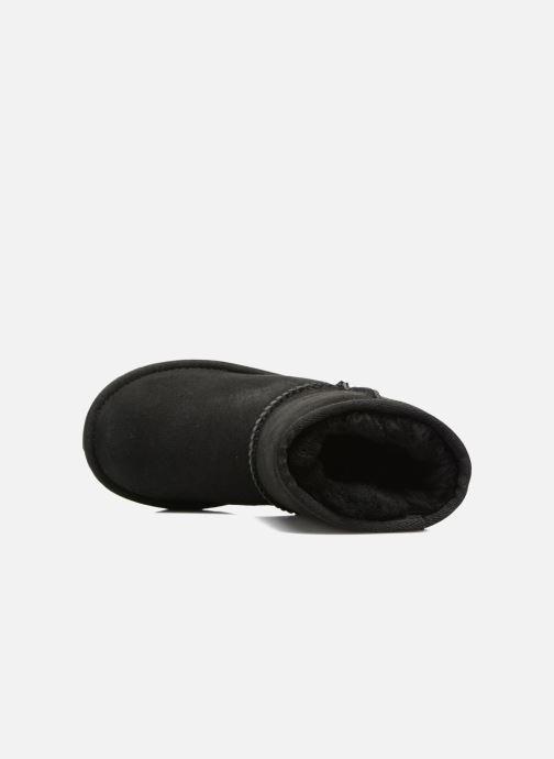 Stiefel UGG Classic II K schwarz ansicht von links