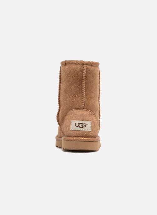 Stiefel UGG Classic II K braun ansicht von rechts