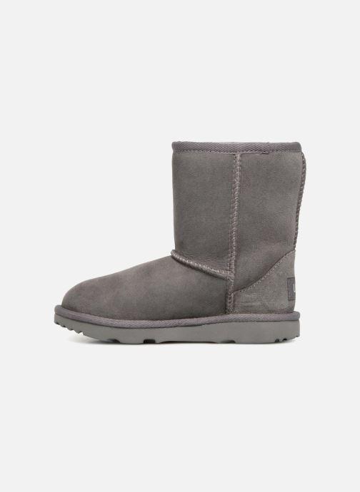 Stiefel UGG Classic II K grau ansicht von vorne