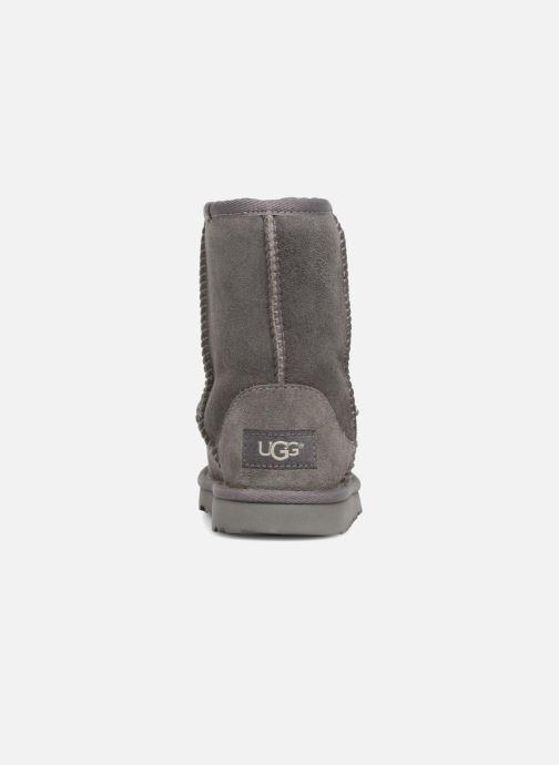 Stiefel UGG Classic II K grau ansicht von rechts