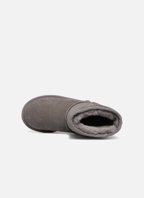 Stiefel UGG Classic II K grau ansicht von links