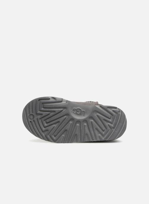 Stiefel UGG Classic II K grau ansicht von oben