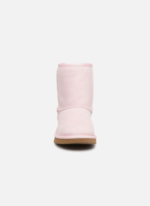 Stiefel UGG Classic II K rosa schuhe getragen