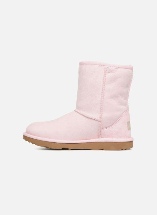 Stiefel UGG Classic II K rosa ansicht von vorne