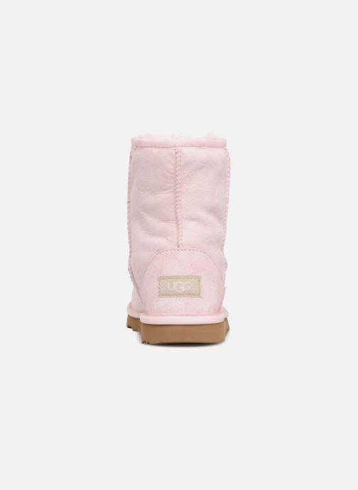 Stiefel UGG Classic II K rosa ansicht von rechts