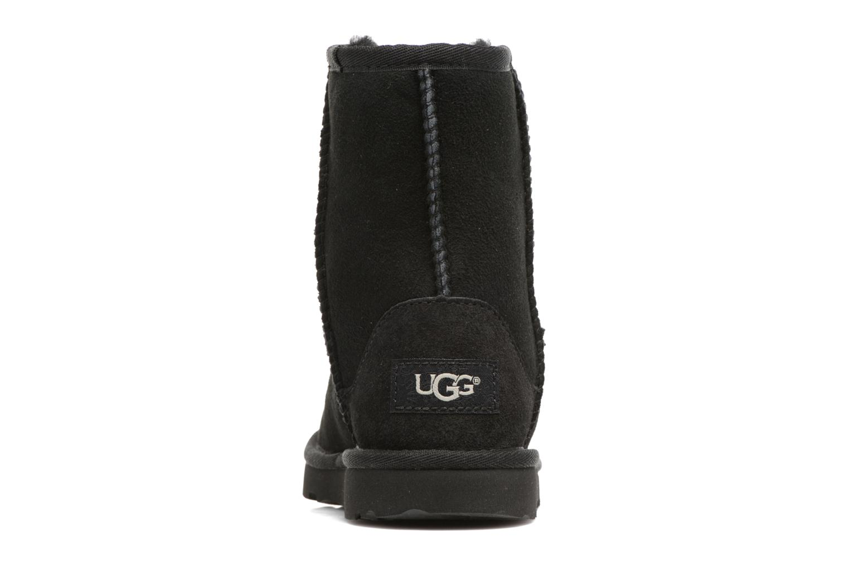 Bottes UGG Classic II K Noir vue droite