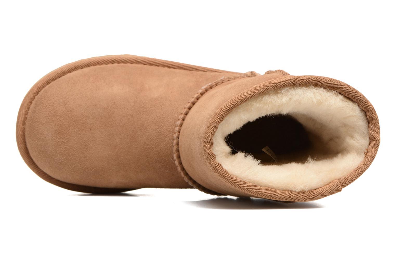 Stiefel UGG Classic II K braun ansicht von links
