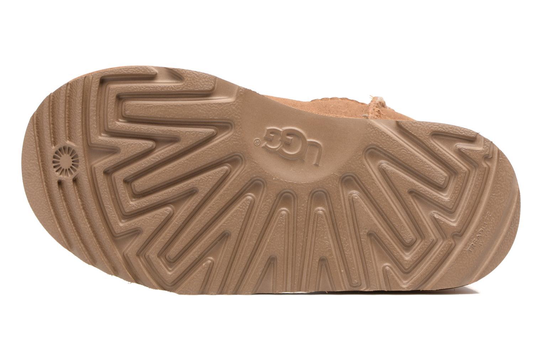 Stiefel UGG Classic II K braun ansicht von oben