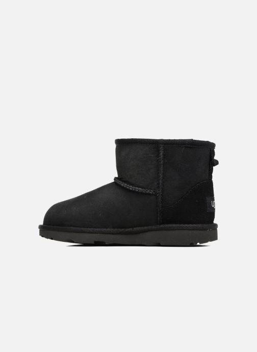 Støvler & gummistøvler UGG Classic Mini II K Sort se forfra