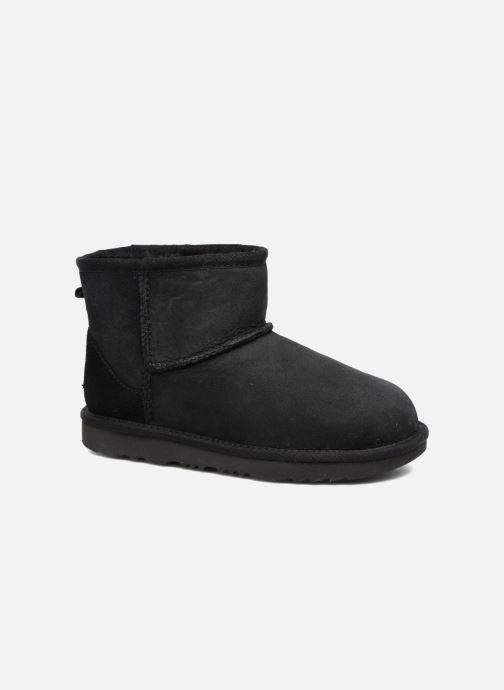 Støvler & gummistøvler UGG Classic Mini II K Sort detaljeret billede af skoene