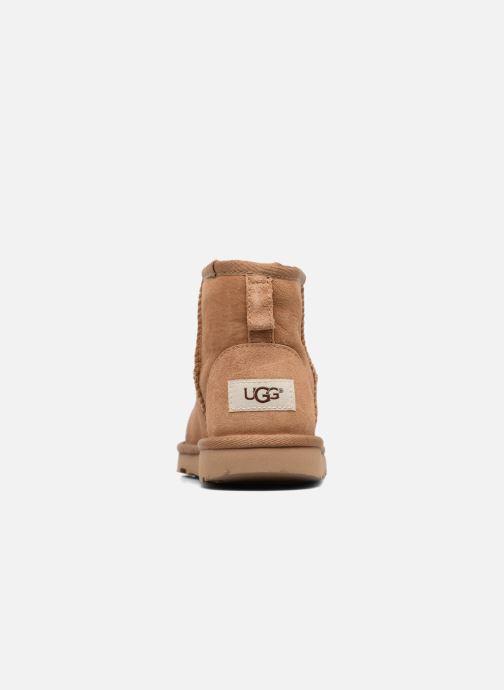Stiefel UGG Classic Mini II K braun ansicht von rechts