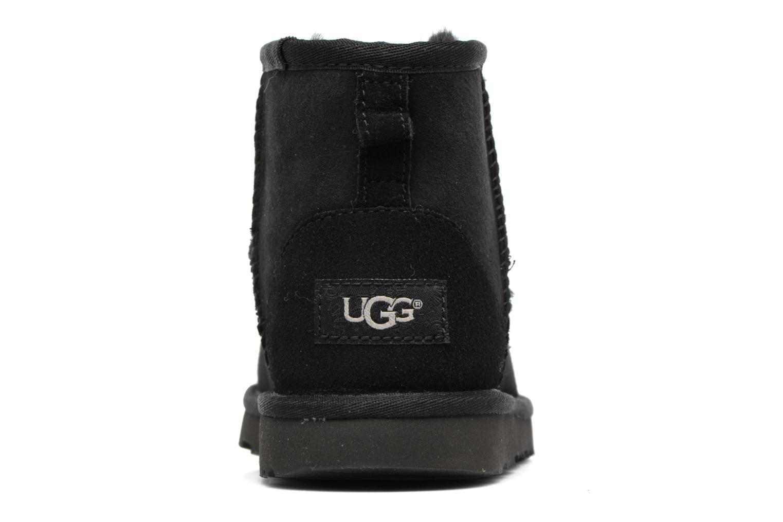 Stövlar & gummistövlar UGG Classic Mini II K Svart Bild från höger sidan