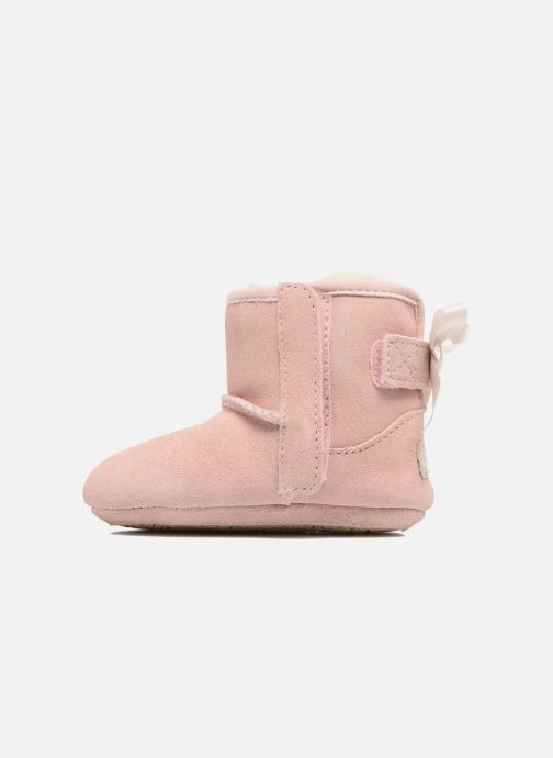 Chaussons UGG Jesse Bow II K Rose vue face