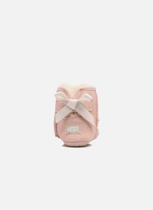 Chaussons UGG Jesse Bow II K Rose vue droite