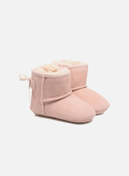 Chaussons UGG Jesse Bow II K Rose vue détail/paire