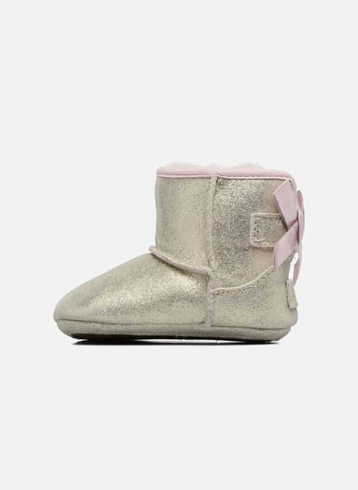 Chaussons UGG Jesse Bow II K Or et bronze vue face