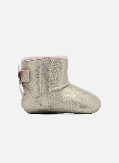 Pantoffels UGG Jesse Bow II K Goud en brons achterkant