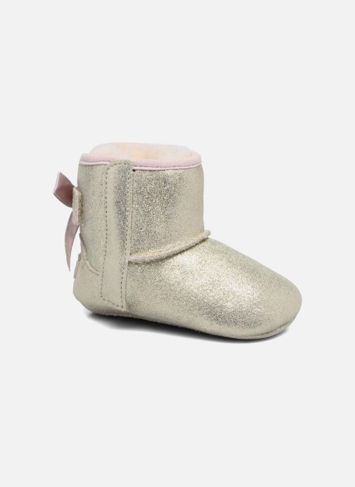 Hjemmesko UGG Jesse Bow II K Guld og bronze detaljeret billede af skoene