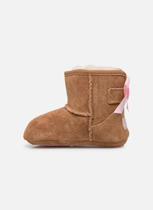 Chaussons UGG Jesse Bow II K Marron vue face