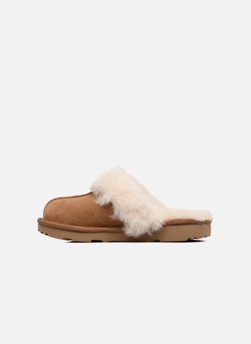 Pantofole UGG Cozy II K Marrone immagine frontale