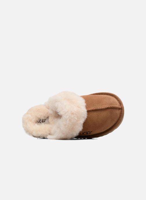 Pantofole UGG Cozy II K Marrone immagine sinistra
