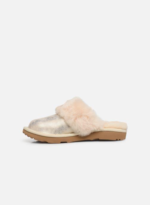 Pantofole UGG Cozy II K Oro e bronzo immagine frontale