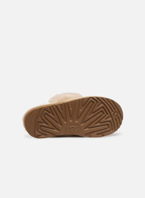 Pantoffels UGG Cozy II K Goud en brons boven