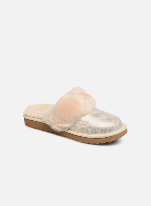 Hjemmesko UGG Cozy II K Guld og bronze detaljeret billede af skoene