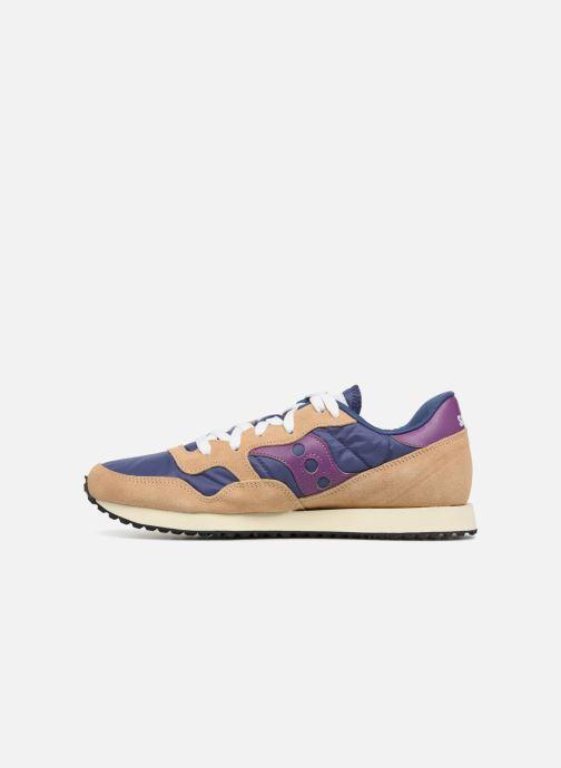 Sneakers Saucony Dxn trainer Vintage Blauw voorkant