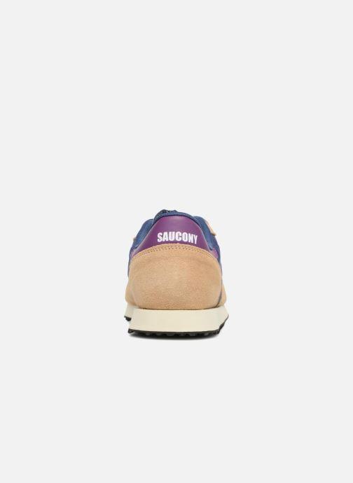 Sneakers Saucony Dxn trainer Vintage Blauw rechts