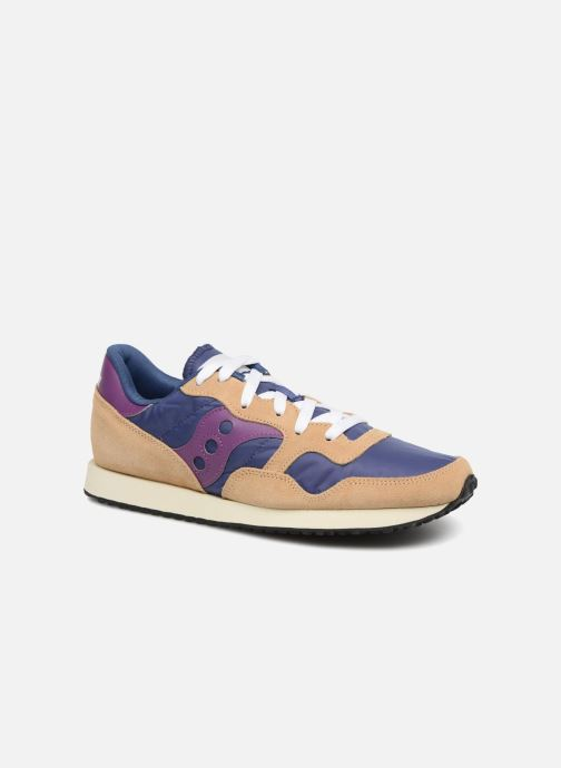 Sneakers Saucony Dxn trainer Vintage Blauw detail