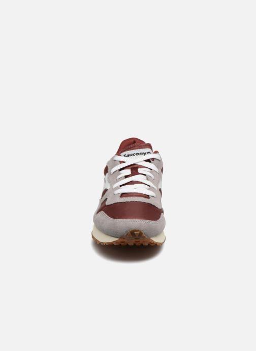 Sneakers Saucony Dxn trainer Vintage Gul bild av skorna på