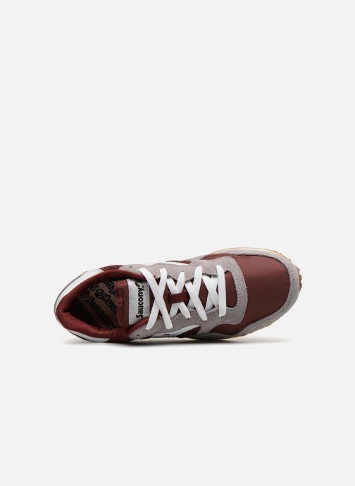 Sneakers Saucony Dxn trainer Vintage Gul bild från vänster sidan