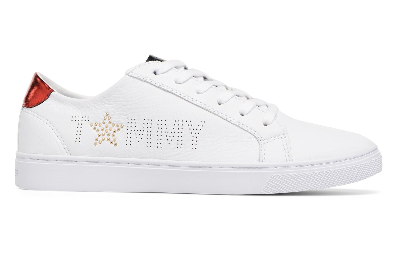 Sneakers Tommy Hilfiger TOMMY STAR METALLIC SNEAKER Wit achterkant