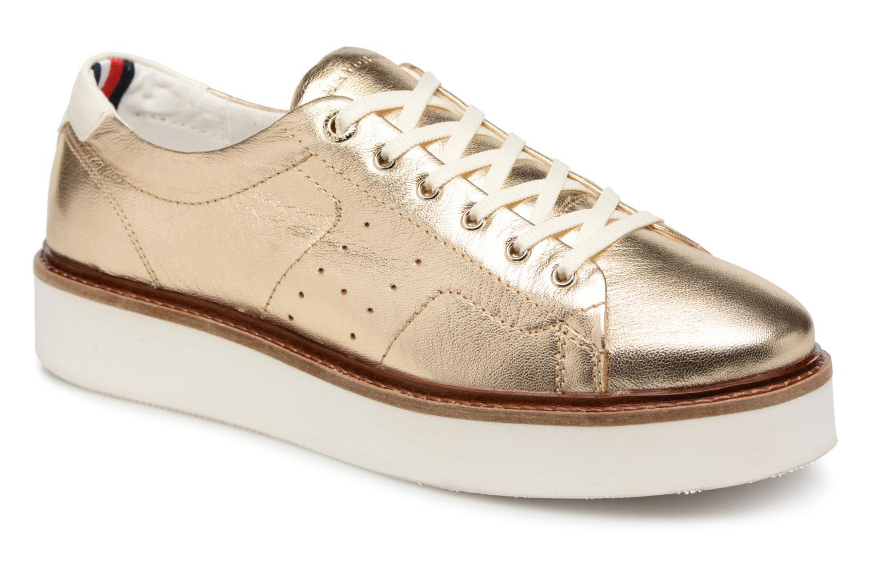 Nuevo zapatos Tommy Hilfiger METALLIC HYBRID bronce) LEATHER Deportes (Oro y bronce) HYBRID - Deportivas en Más cómodo 9b6b91