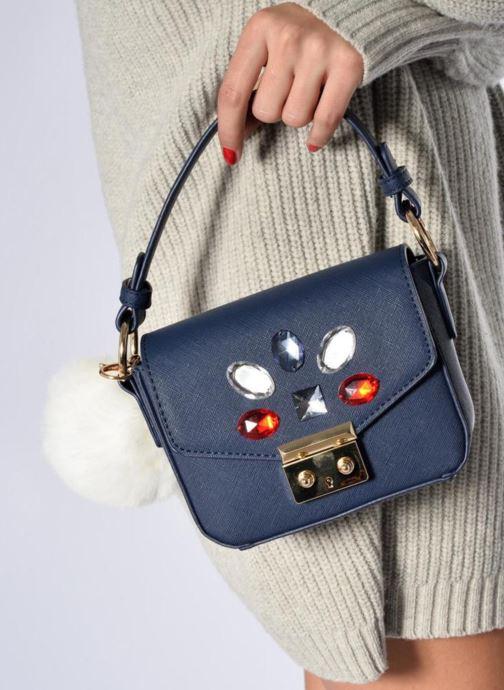 Handtaschen Sarenza x L'Aetelier Caesars Funny blau ansicht von unten / tasche getragen